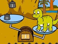 Cuide de um pequeno dinossauro
