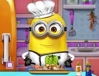 Minion cozinha como na vida real