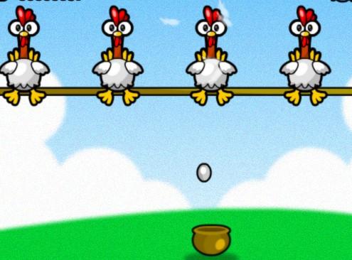 Recolher os Ovos das Galinhas