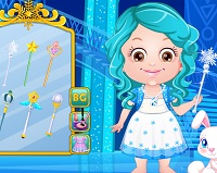 Vestir a Bebê Hazel por Frozen