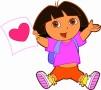 Pinte com Dora the Explorer