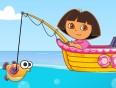Pescar com Dora