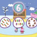 Aprenda os números com Peppa