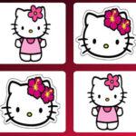Memória com Hello Kitty
