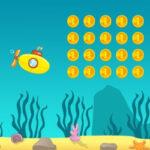 O submarino que recolhe moedas