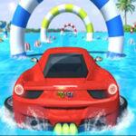 Acrobacia de carros na água