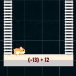 Adição de Números Positivos e Negativos com o Hamster