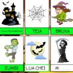 Alfabetização de Halloween