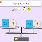 Equações de Equilíbrio de Álgebra