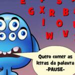 Soletrar Palavras em Inglês com o monstro