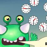 Alimente o Monstro com Relógios
