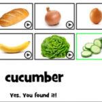 Decifrar alimentos em inglês
