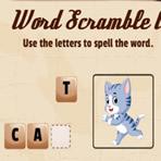 Palavras embaralhadas: Animais em inglês