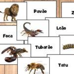 Nomes de Animais em português