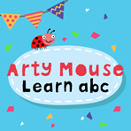 Arty Mouse: Escrevendo as Letras