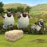 Atletismo com Shaun, a ovelha
