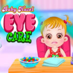 Baby Hazel vai ao oftalmologista