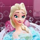 Elsa Frozen Banho de Beleza