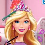 Barbie no cabeleireiro