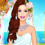 Barbie Casamento Tropical