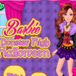 Vestir a Barbie do Monster High