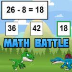 Batalha Matemática com Dinossauros