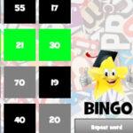 Bingo em Inglês para Crianças