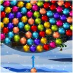 Bolas de Natal giratórias
