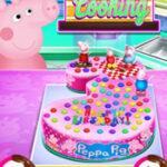 Bolo de aniversário de Peppa Pig