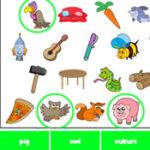 Busca de Objetos em inglês