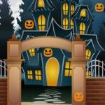 Caça às abóboras de Halloween