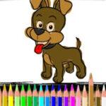 Cães para Colorir