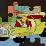 Carros de Homer: Quebra Cabeças