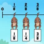 Classificar Frações com macaco