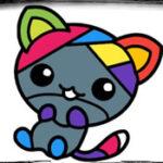 Coloração online Fácil para crianças