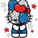 Hello Kitty Coloração por Números