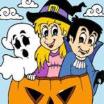 Colorir os desenhos de Halloween