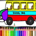 Colorir Ônibus Escolar online