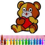Colorir os Animais Dia dos Namorados