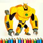 Colorir Ben 10 Monstros