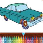 Colorir Carros Clássicos