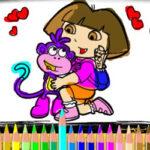 Pintar Com Dora e Boots