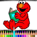Colorir Elmo