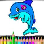 Colorir Golfinhos online