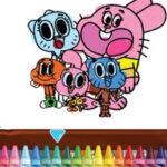 Colorir Gumball