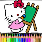 Colorir Hello Kitty Online