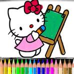 Colorir Hello Kitty Online