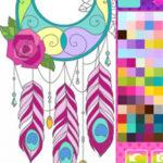Colorir Caçador de Sonhos Mandalas