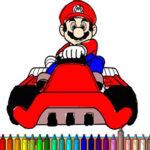 Colorir Mario Kart