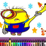 Colorir Minions online